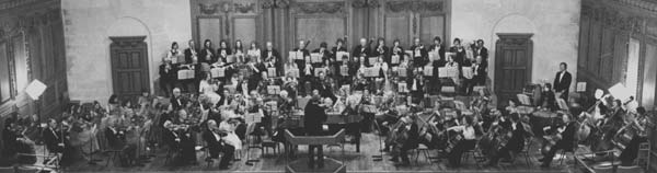 Winchester Amateur Orchestra in 1976